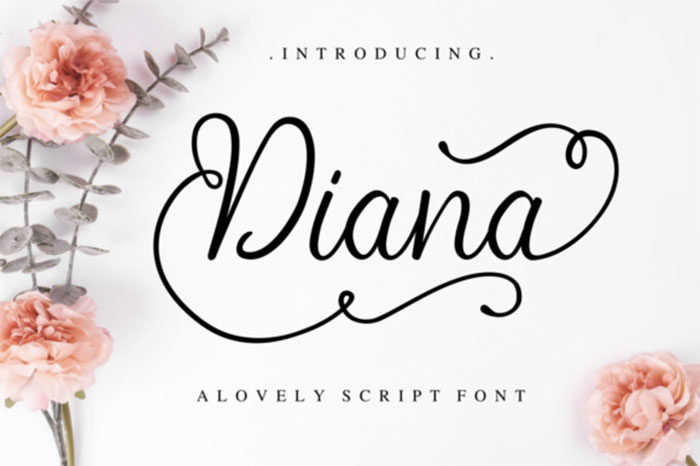 diana-700x466 Fun happy birthday fonts you can download with a click