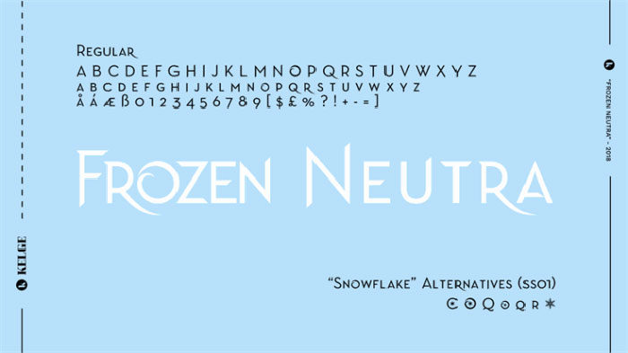 frozen-neutra-700x393 Free Disney fonts: Enter the Mickey Mouse club with these quirky fonts