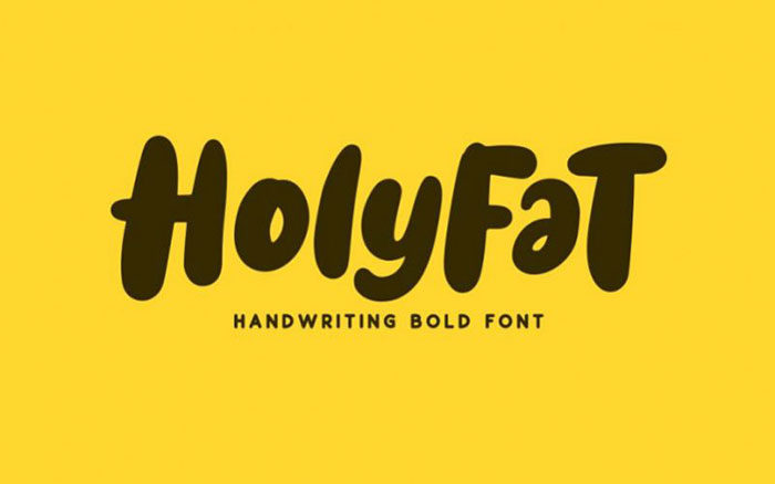 holyfat-700x438 Fun happy birthday fonts you can download with a click