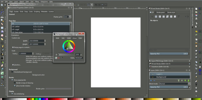 inkspace-UI-700x348 Inkscape vs Illustrator: Which one to create vector graphics with