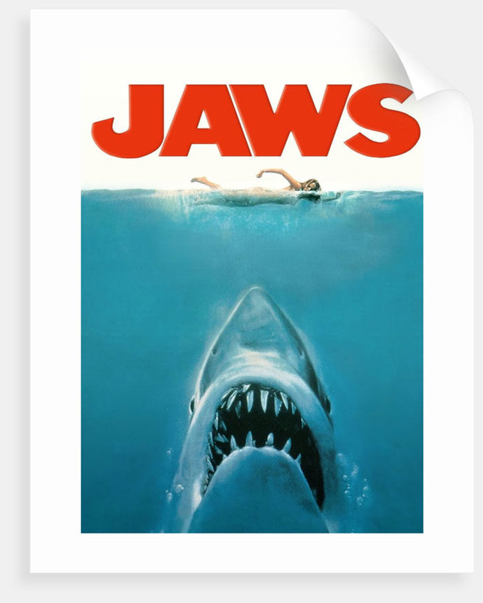 jaws-700x874 The best movie posters: Hand picked designs you should check out