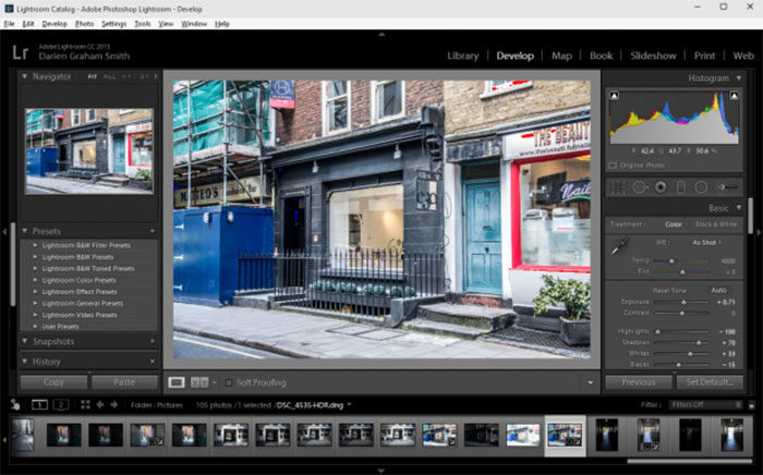 lightroom1-700x436 Photoshop vs Lightroom: Which to use for your photos