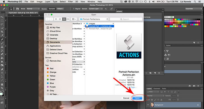 mac3-700x375 How to install Photoshop actions in a couple of minutes
