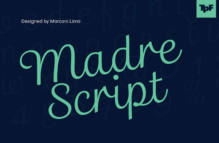madre-script-700x459 Free Disney fonts: Enter the Mickey Mouse club with these quirky fonts