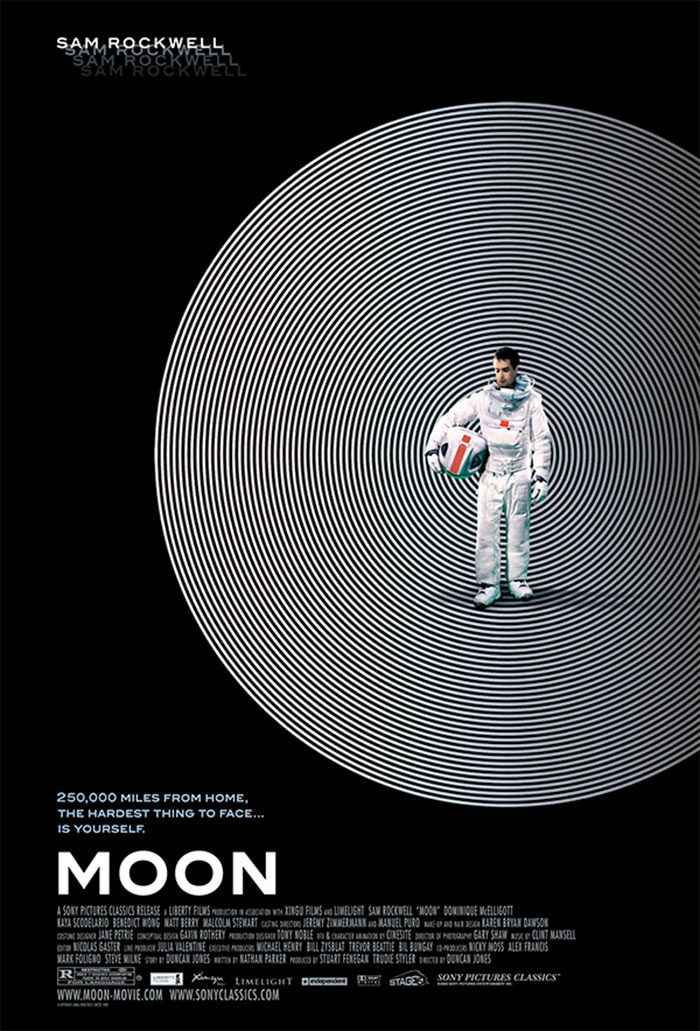moon-700x1031 The best movie posters: Hand picked designs you should check out