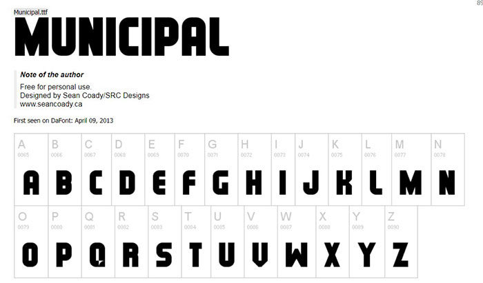 municipal-700x411 Cool magazine fonts you should consider for editorial design