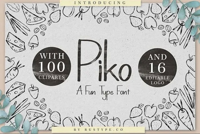 piko-700x469 Fun happy birthday fonts you can download with a click