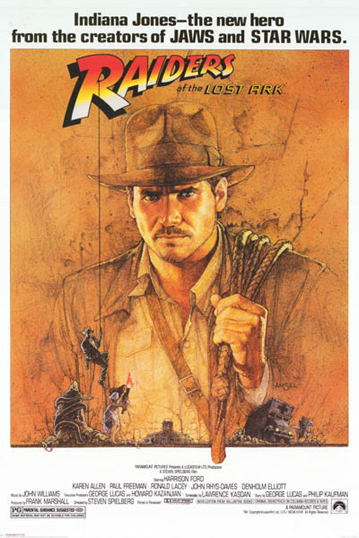 raiders-700x1048 The best movie posters: Hand picked designs you should check out