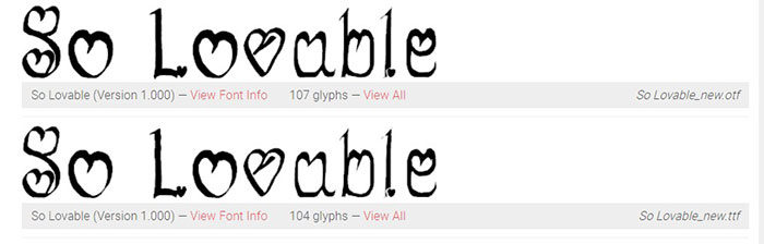 so-lovable-700x224 Fun happy birthday fonts you can download with a click