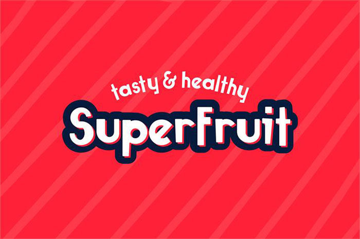 super-fruit-700x465 Fun happy birthday fonts you can download with a click