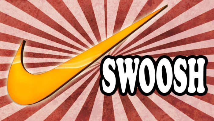 swoosh-700x394 The Nike logo (symbol) and the history behind its simple design