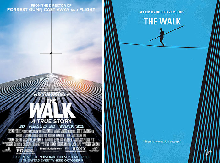 the-walk-700x520 The best movie posters: Hand picked designs you should check out