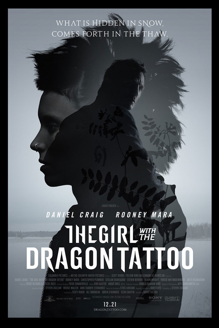 thegirl-and-tatto-700x1046 The best movie posters: Hand picked designs you should check out