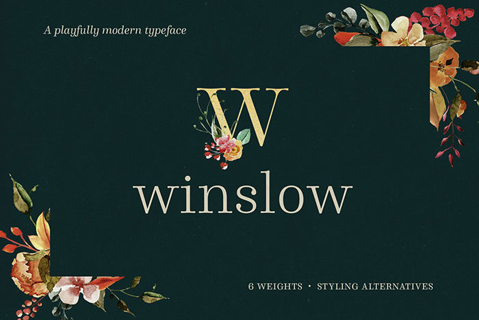 winslow-700x467 Cool magazine fonts you should consider for editorial design
