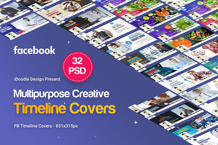 32-Multipurpose-Facebook-700x466 Facebook mockup templates: Download these cool mockups