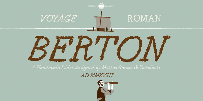 Berton Chalkboard font collection: Check out these cool looking fonts