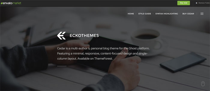 Cedar Ghost template examples and themes, you should check out