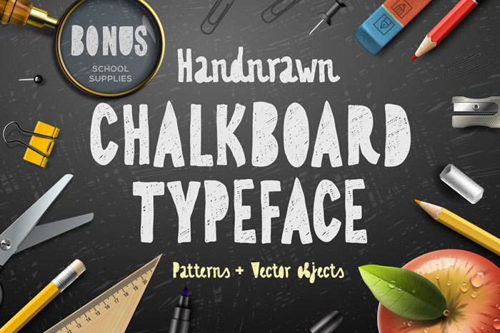 Chalkboard-typeface Chalkboard font collection: Check out these cool looking fonts