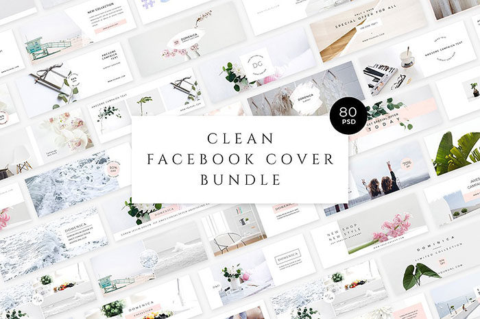 Clean-Facebook-Cover-Bundle-700x466 Facebook mockup templates: Download these cool mockups