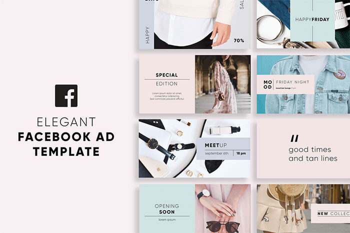 Elegant-Facebook-Ad-Templates-700x466 Facebook mockup templates: Download these cool mockups