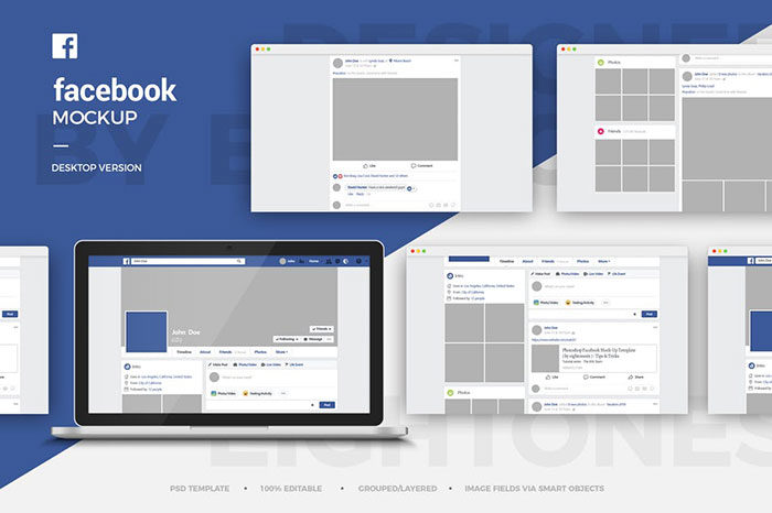 Facebook-Desktop-Mock-Up-Template-700x466 Facebook mockup templates: Download these cool mockups