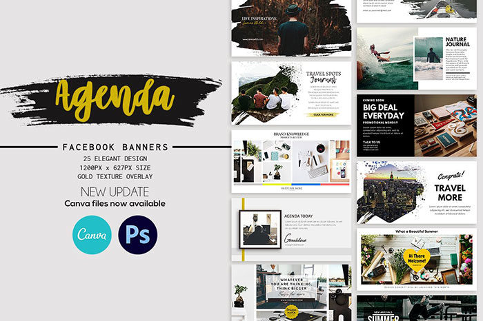 Facebook-Post-Banners-Agenda-Trendy-in-banners-700x466 Facebook mockup templates: Download these cool mockups