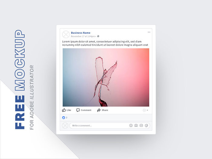 Facebook-Post-Free-Mockup-700x525 Facebook mockup templates: Download these cool mockups