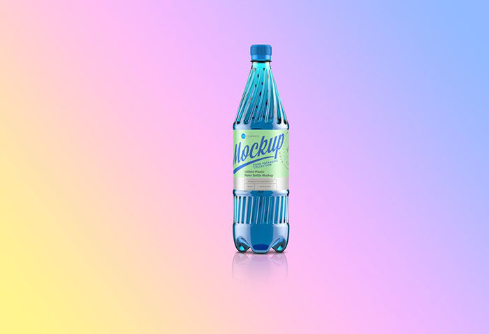 Free-Plastic-Water-Bottle-Mockup-700x478 Download a water bottle mockup from these templates