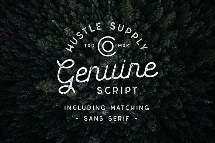 Genuine Chalkboard font collection: Check out these cool looking fonts