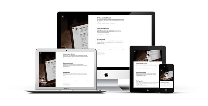 Ghostium Ghost template examples and themes, you should check out