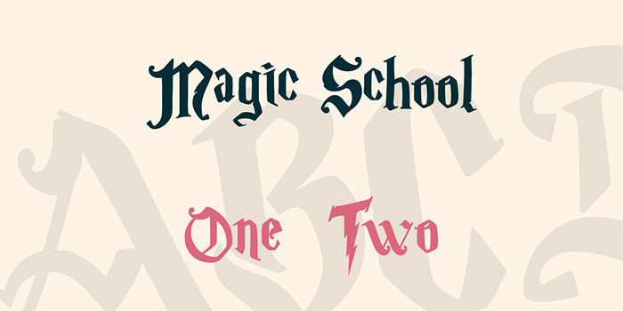 Harry-Potter-Magic-School-700x350 Pick your favorite Harry Potter font out of these options