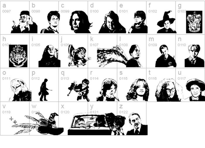 Harry-Potter-and-the-Dingbat-700x504 Pick your favorite Harry Potter font out of these options