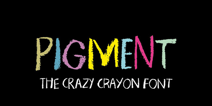 Pigment Chalkboard font collection: Check out these cool looking fonts