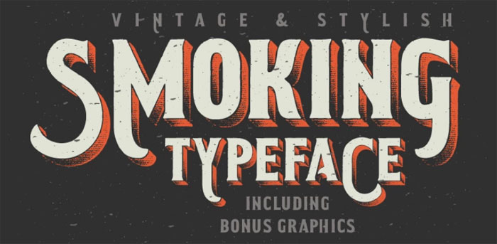 Smoking Chalkboard font collection: Check out these cool looking fonts
