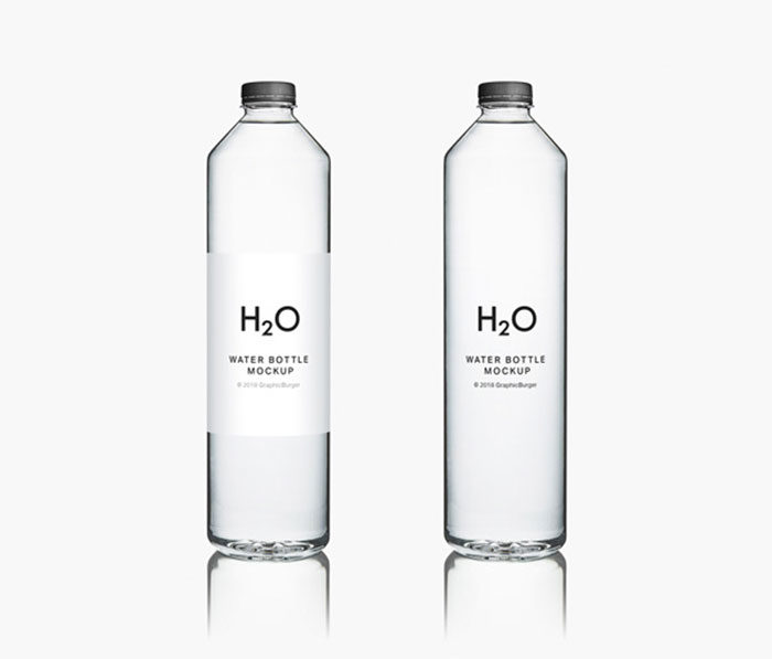 Water-Bottle-MockUp1-700x597 Download a water bottle mockup from these templates