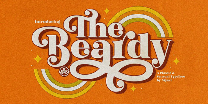 Check out these Hippie font examples: Free and Premium