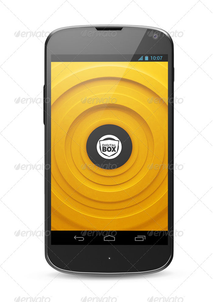 Android-smartphones Phone mockup examples that you can quickly download