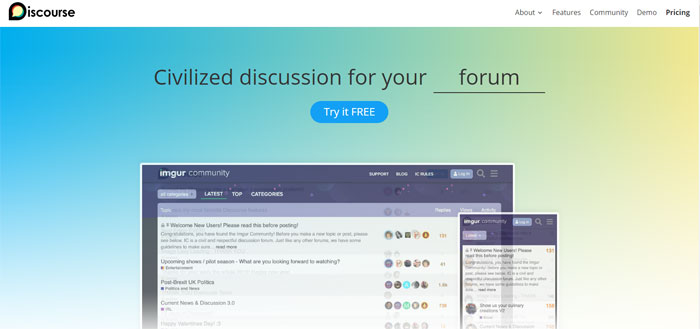 Discourse The best forum software you can use right now