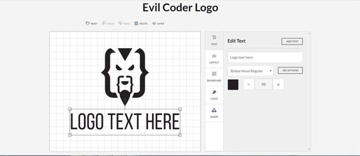 Evil-Coder-logo Impressive CSS logo examples you should check out