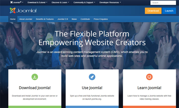 Joomla The best forum software you can use right now
