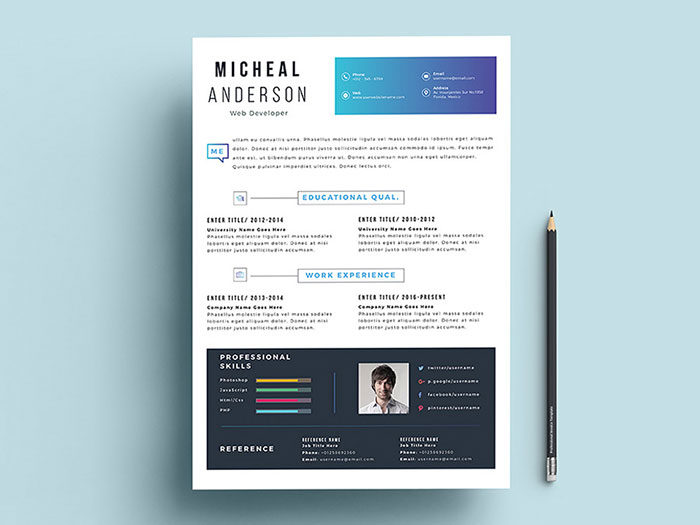Make-Your-Job-Skills-As-Modern-As-You-Are-700x525 Illustrator resume: How good resumes look (Templates included)