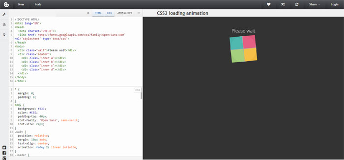 Rotating-Window Impressive CSS logo examples you should check out
