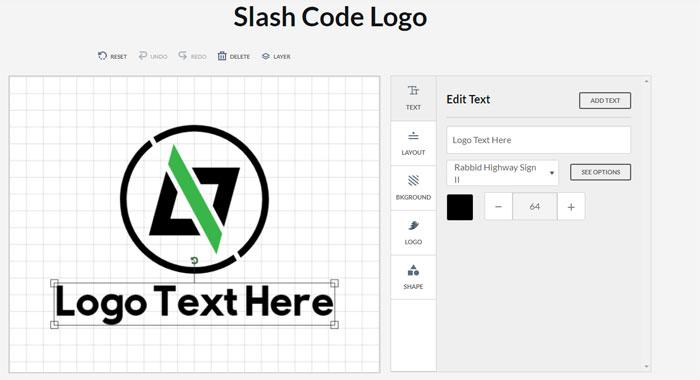 Slash-Code-logo Impressive CSS logo examples you should check out