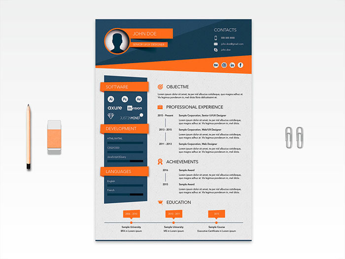 Use-resume-to-tell-a-story-700x525 Illustrator resume: How good resumes look (Templates included)