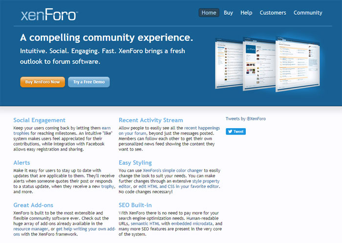 XenForo The best forum software you can use right now