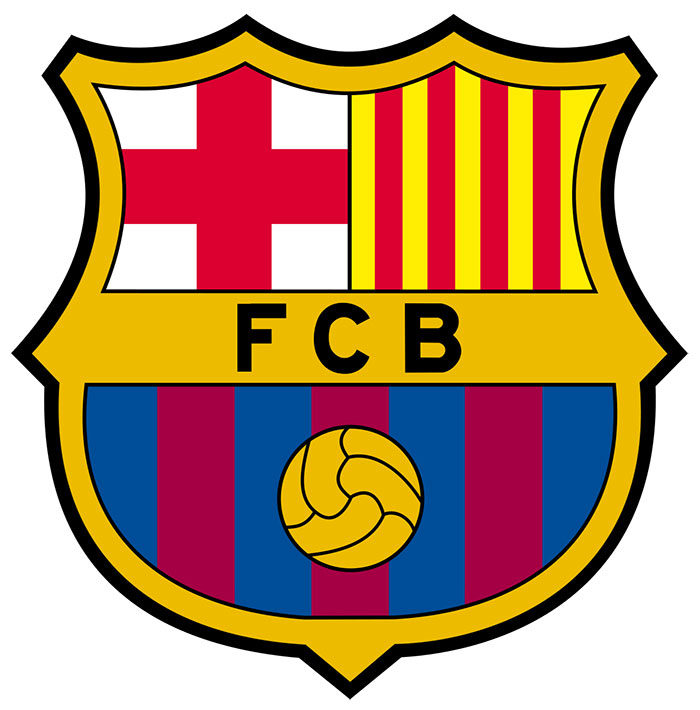 barcelona-700x710 The Barcelona logo history and what the symbol means