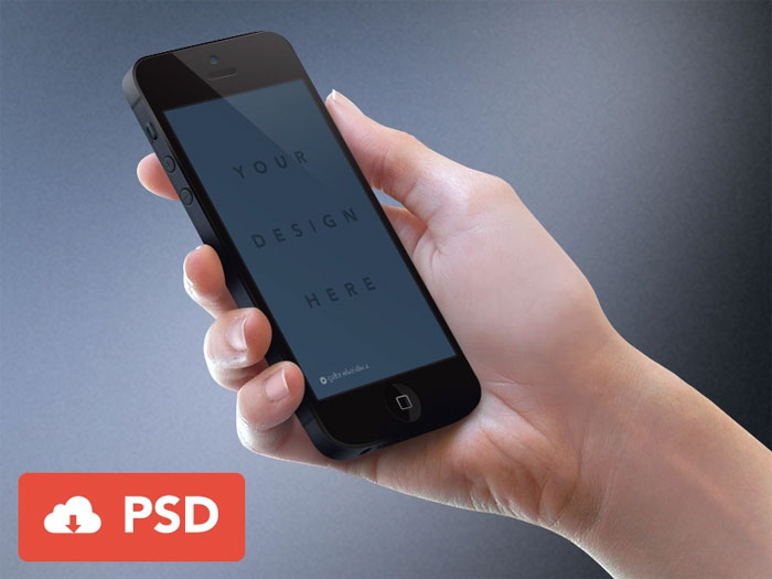 iPhone-elegant-mockup Phone mockup examples that you can quickly download