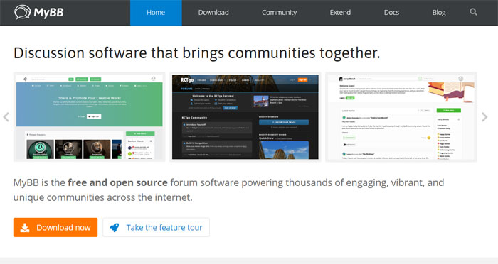 myBB The best forum software you can use right now