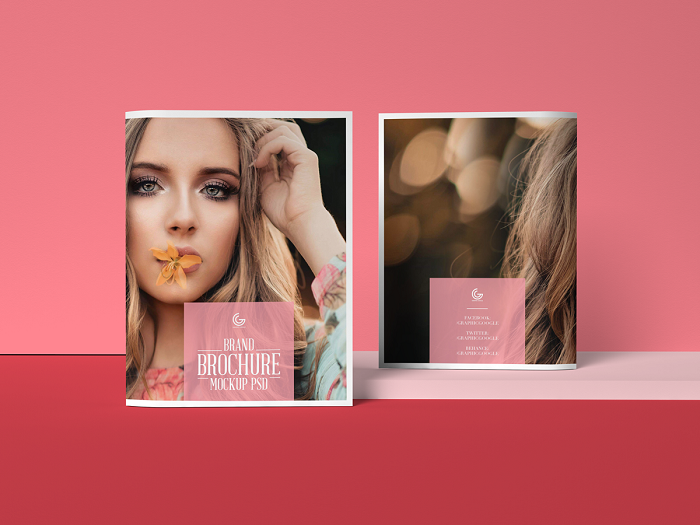 p16 Great brochure mockup examples you could download right now
