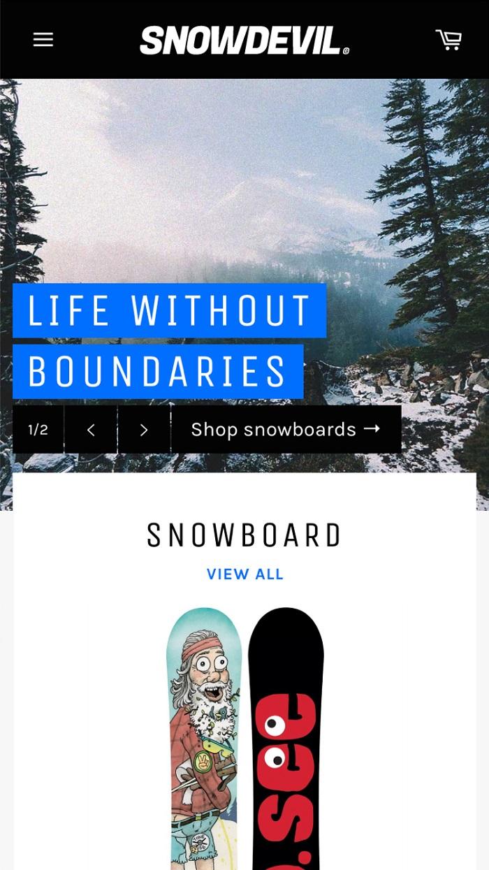 s1-21 Thèmes Shopify gratuits et premium pour commencer à utiliser